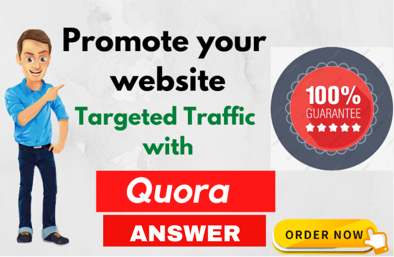 Guaranteed Targeted Traffic with 10 HQ Quora Answers