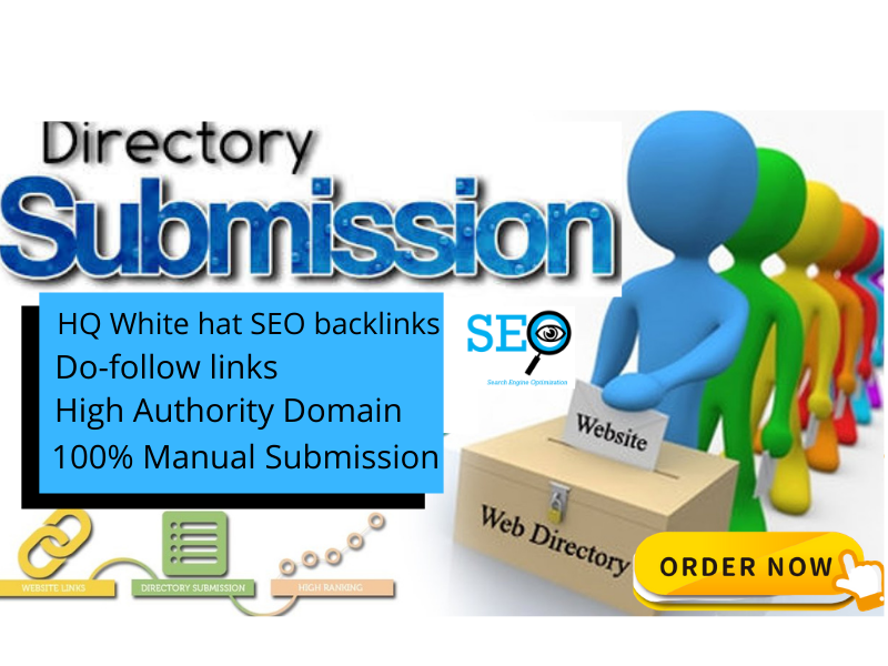 I Will Do 50 HQ Directory Submission White Hat SEO Backlinks