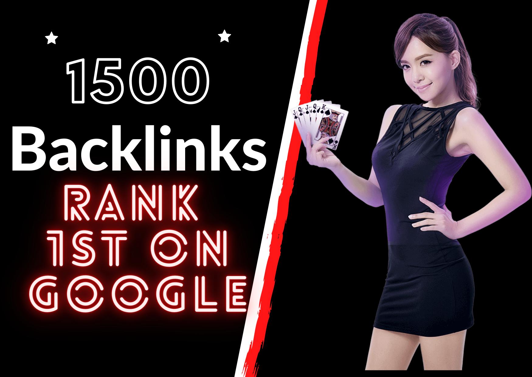 Guaranteed 1st Page Ranking For 3 Keywords Of Gambling,  Betting,  Judibola,  Casino Niche