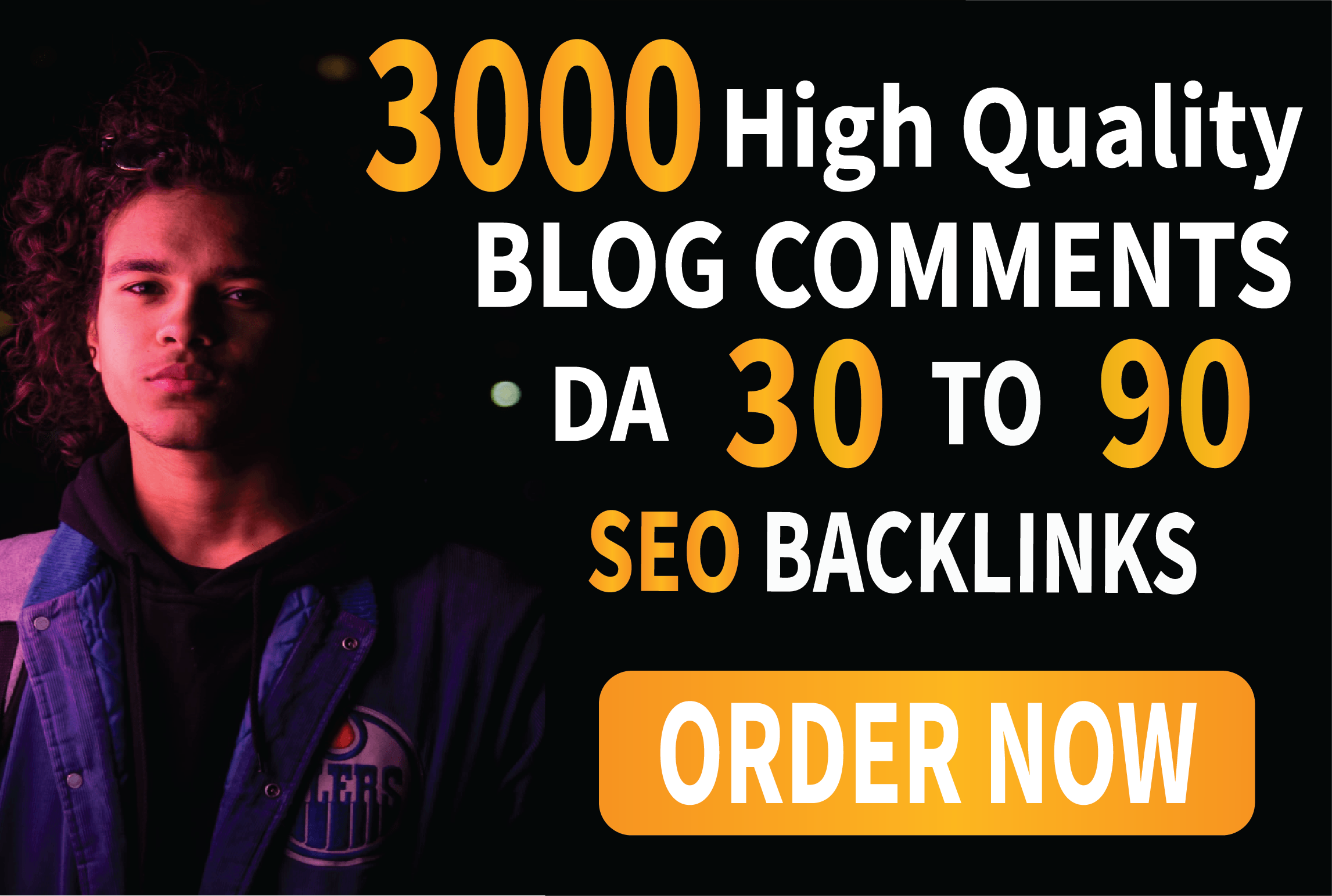 I will build 3000 blog comments manually