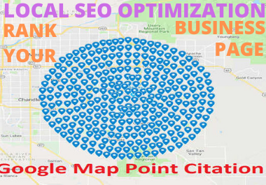 Manually 300 Create Google Maps Citations for ranking and Local SEO