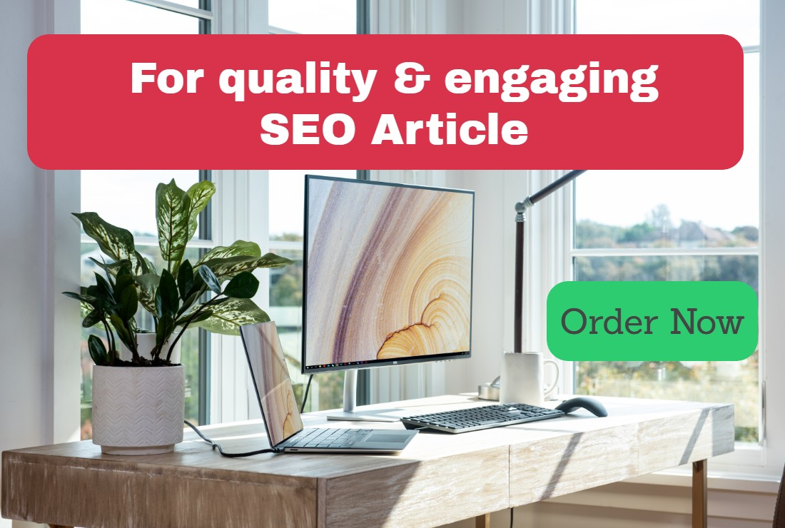 Quallity and Engaging seo article to ensure traffic for your website blog and social media.