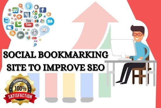 I will create manually social bookmark submission backlinks 100