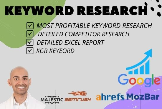 i will do most Profitable Keyword Research & Competitor Analysis