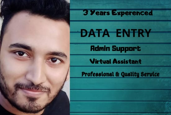 I will do data entry,  copy paste and excel data entry work