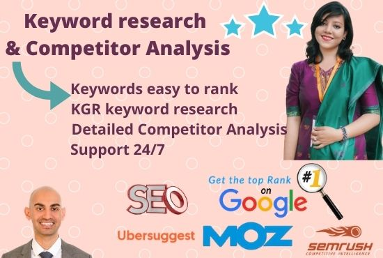 I will Do Profitable Keyword Research & Competitor Analysis to rank on Google