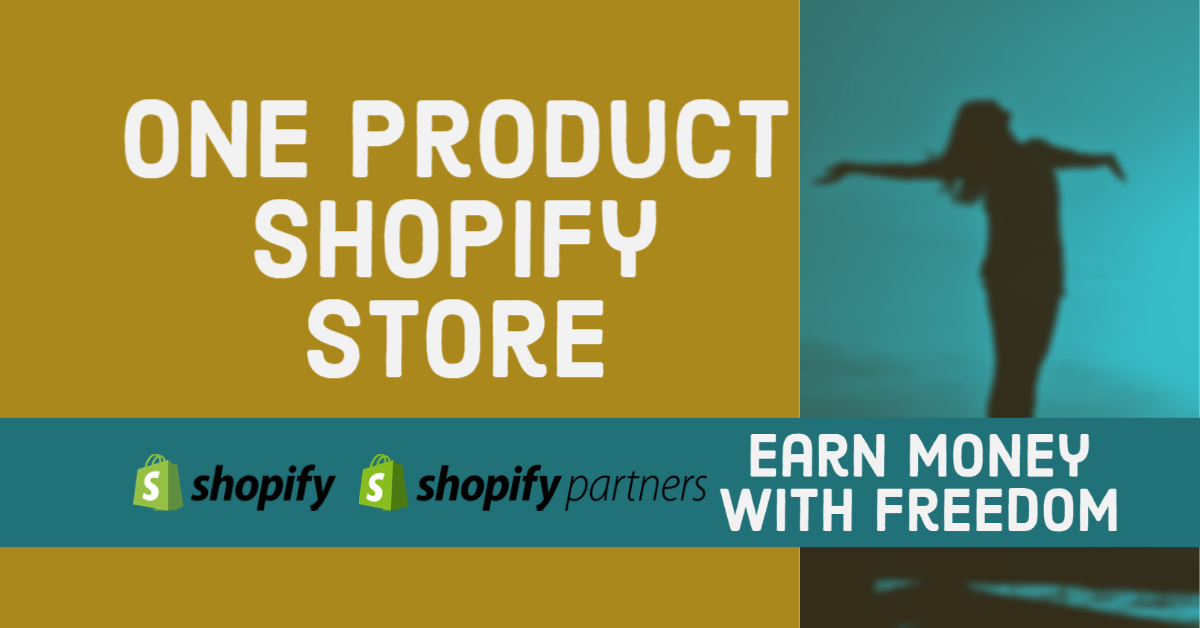 I will build one product shopify website,automated shopify dropshipping website