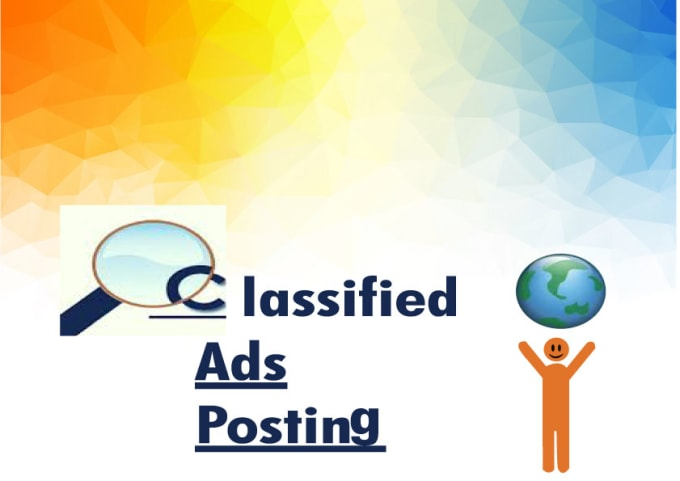 I will do your classified ads on top class classified ad posting sites