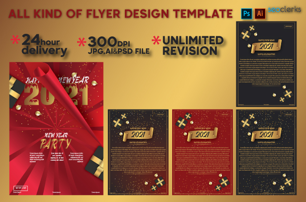 I Will do All Kind of Flyer Design Template