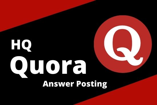 I will promote your website by High Quality 20 Quora Answers