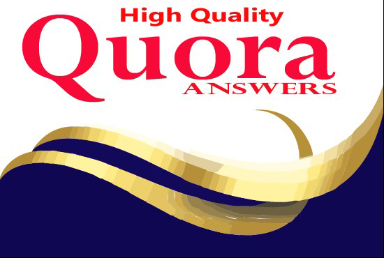 I will promote your website by High Quality 10 Quora Answers