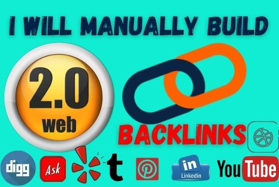 I will work 10 web 2 0 high quality do follow backlinks
