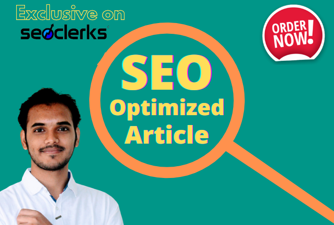 I will be your SEO optimized article writer and blog writer