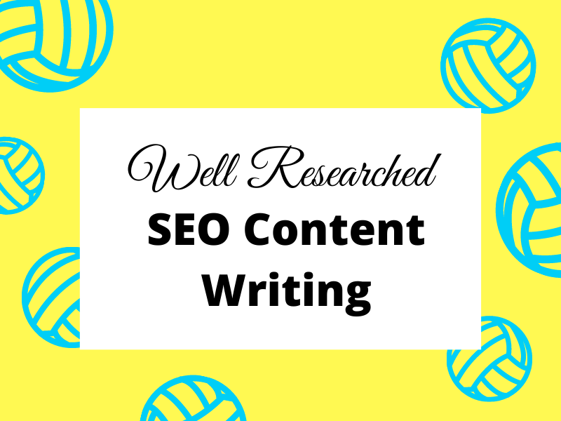 1500 words well researched SEO article writing
