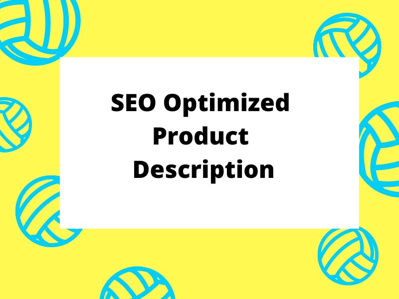 I will write profitable SEO optimized product description