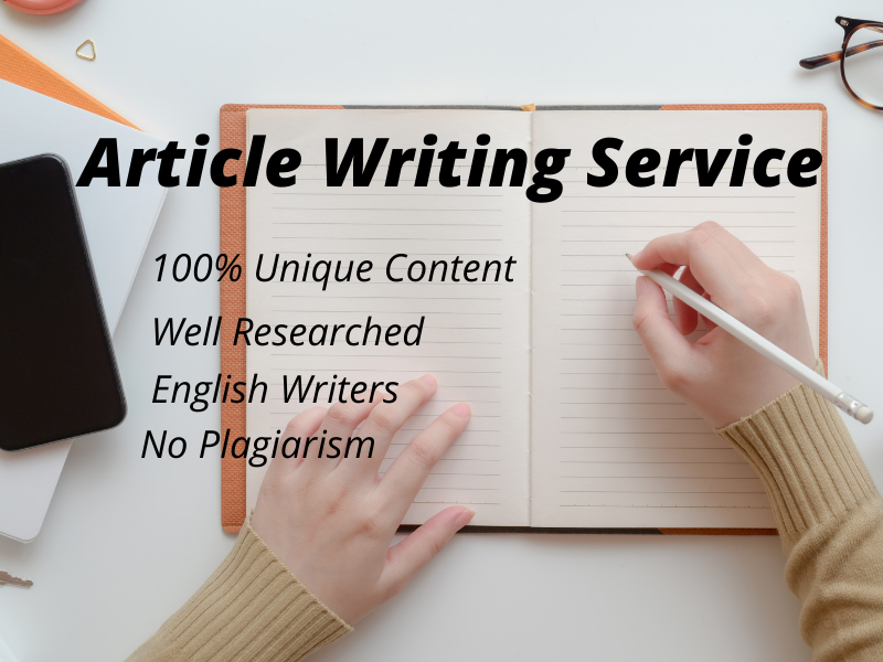 Do An Excellent 1100 Words 10 Article Writing,  Content Writing,  Blog Writing In Any Topic
