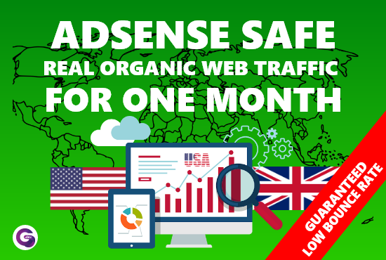 I Will drive daily 400 low bounce web traffic European,  USA website traffic visitors