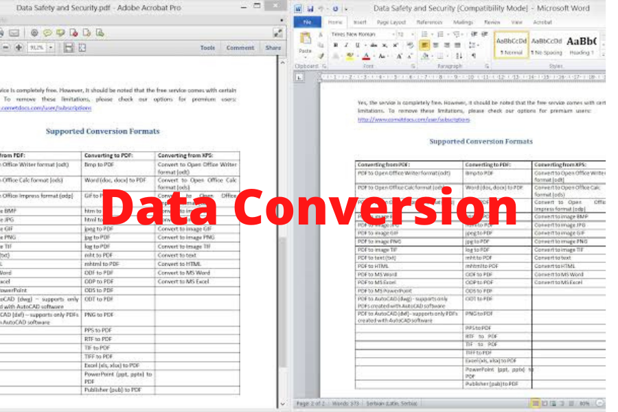 I will be your Virtual Assistant for Data Entry and Data Conversion