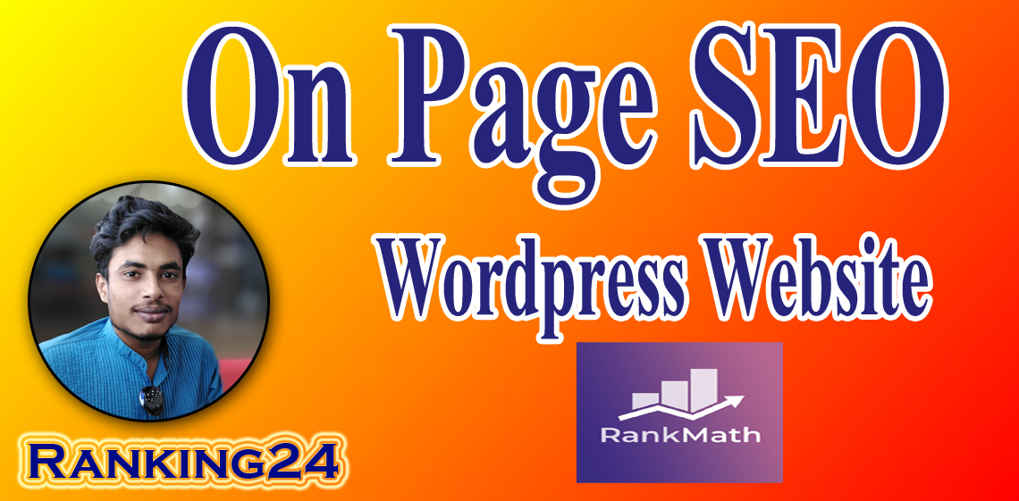 I will do wordpress Rank Math SEO onpage optimization