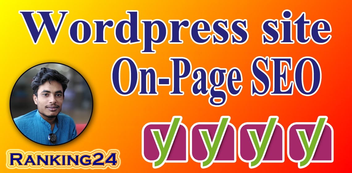 I will do on page SEO and technical SEO of wordpress website with yoast