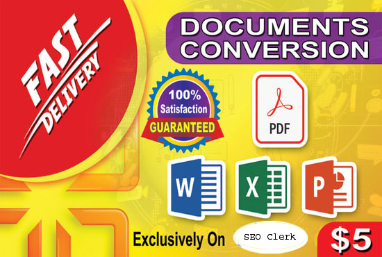 do convert pdf to word, excel, and etc