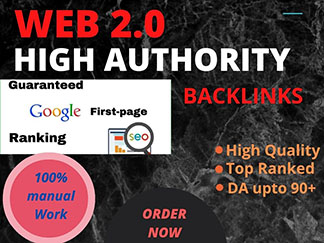 1000 High Da Authority backlinks and most effective links.