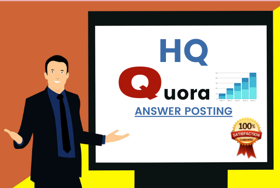 I'll provide 20 HQ Quora answer posting with high authority back-link's