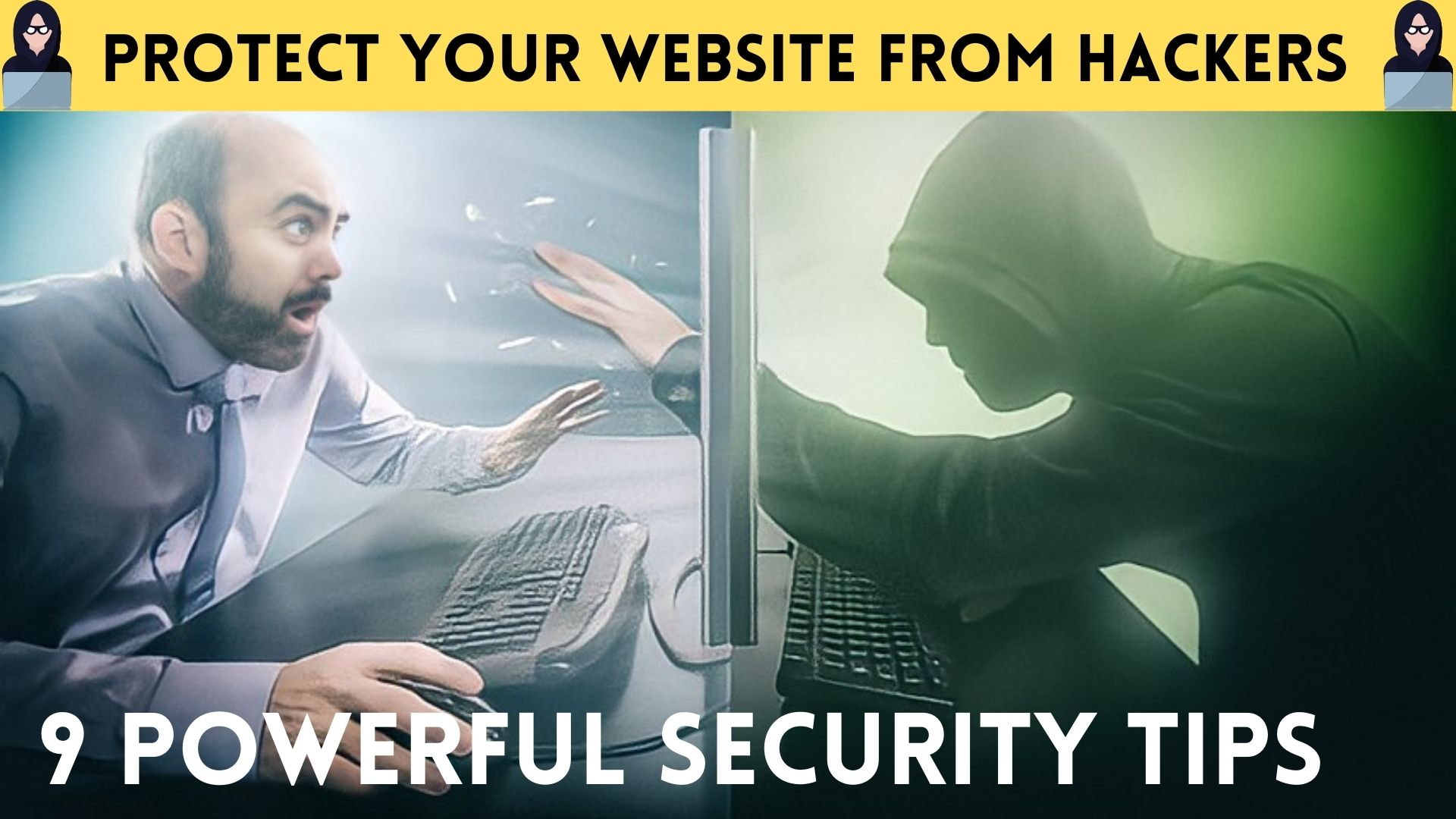 9 security strategy to protect your website from hackers PLR eBook