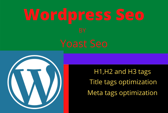 I will do on page SEO and technical optimization using the yoast plugin in 3 page