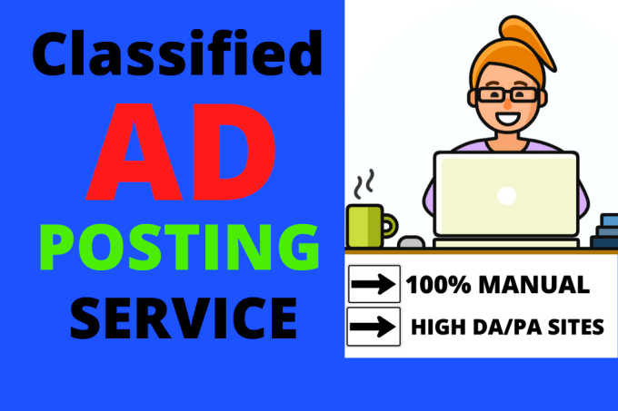 I Will Create Manually 100 Post Your Ads on USA,  UK,  CANADA,  AUSTRALIA,  Classified Ad Posting Sites
