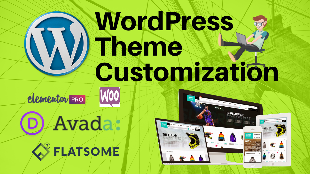 I will do any wordpress customization for you,  landing page