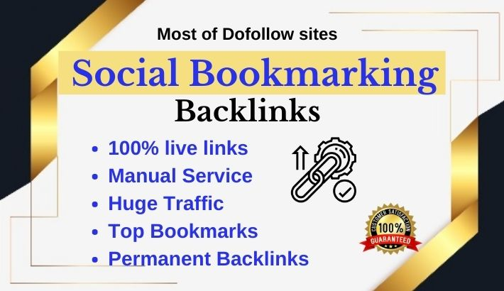 50 Social bookmarks on top social sharing sites