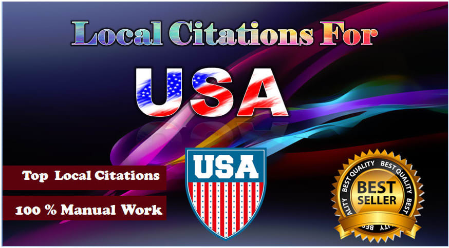 I will do top 50 USA local citations for your business listing