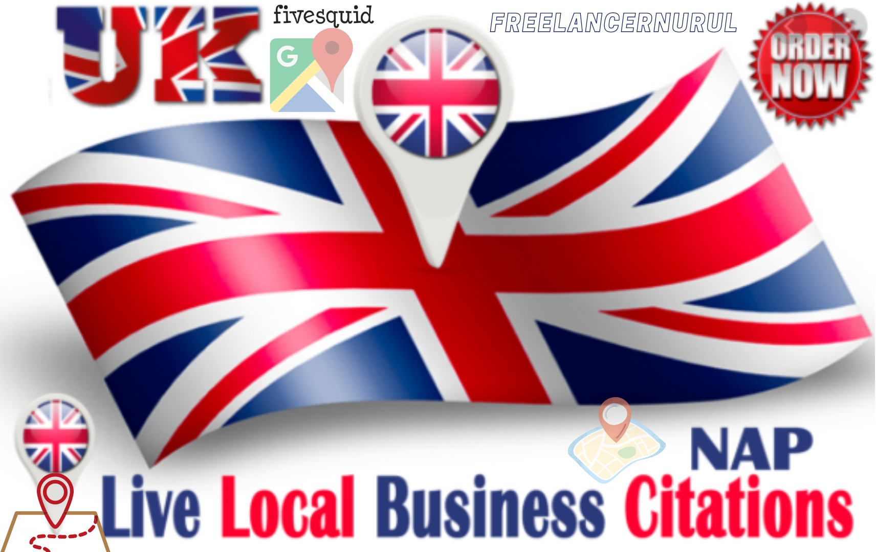 High Authority 100 Local Citations For UK Local Business Rank Up