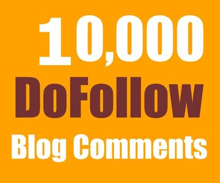 I'll create 10000 GSA blog comment backlink for your website for google rank