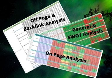 Will do Detailed Competitor Analysis with best Keyword Research