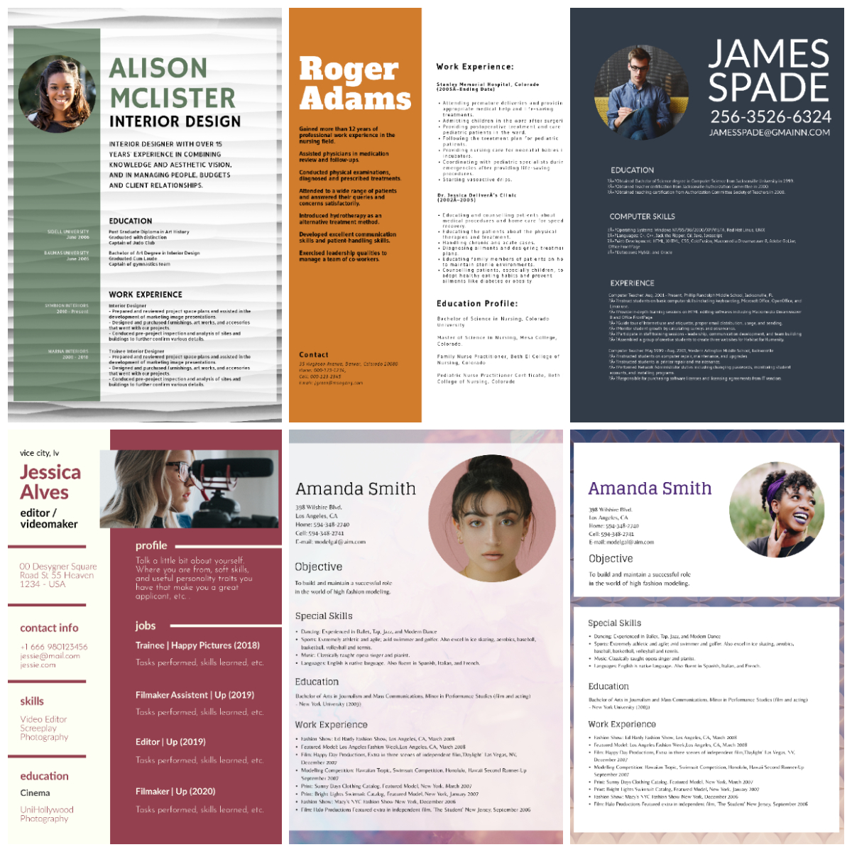 I will Create Your Professional Resume Or CV design