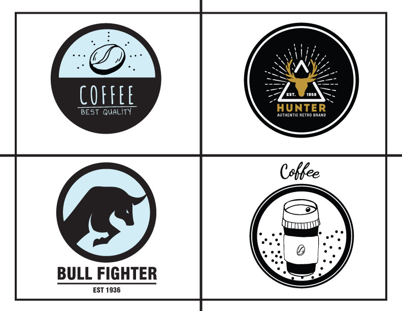 I will do modern minimalist and business logo design