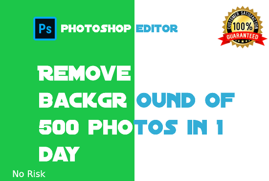 I will remove background of any photos at very cheap rate