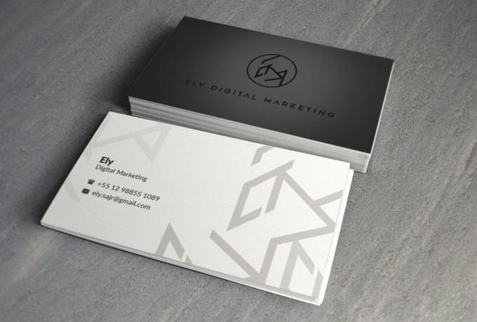 Design luxury business card design