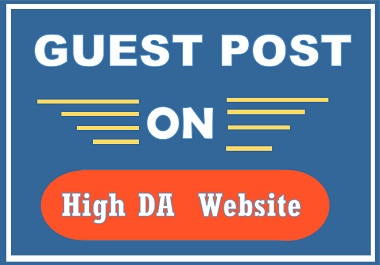 5 Write and publish guest post on high authority website permanent backlinks any category