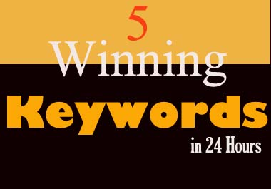 Find 5 Winning & Easy to Rank Keywords for Your Next Blog Post