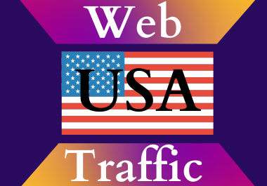 USA traffic for 30 days Unlimited traffic low bounce google analytics traceable web traffic