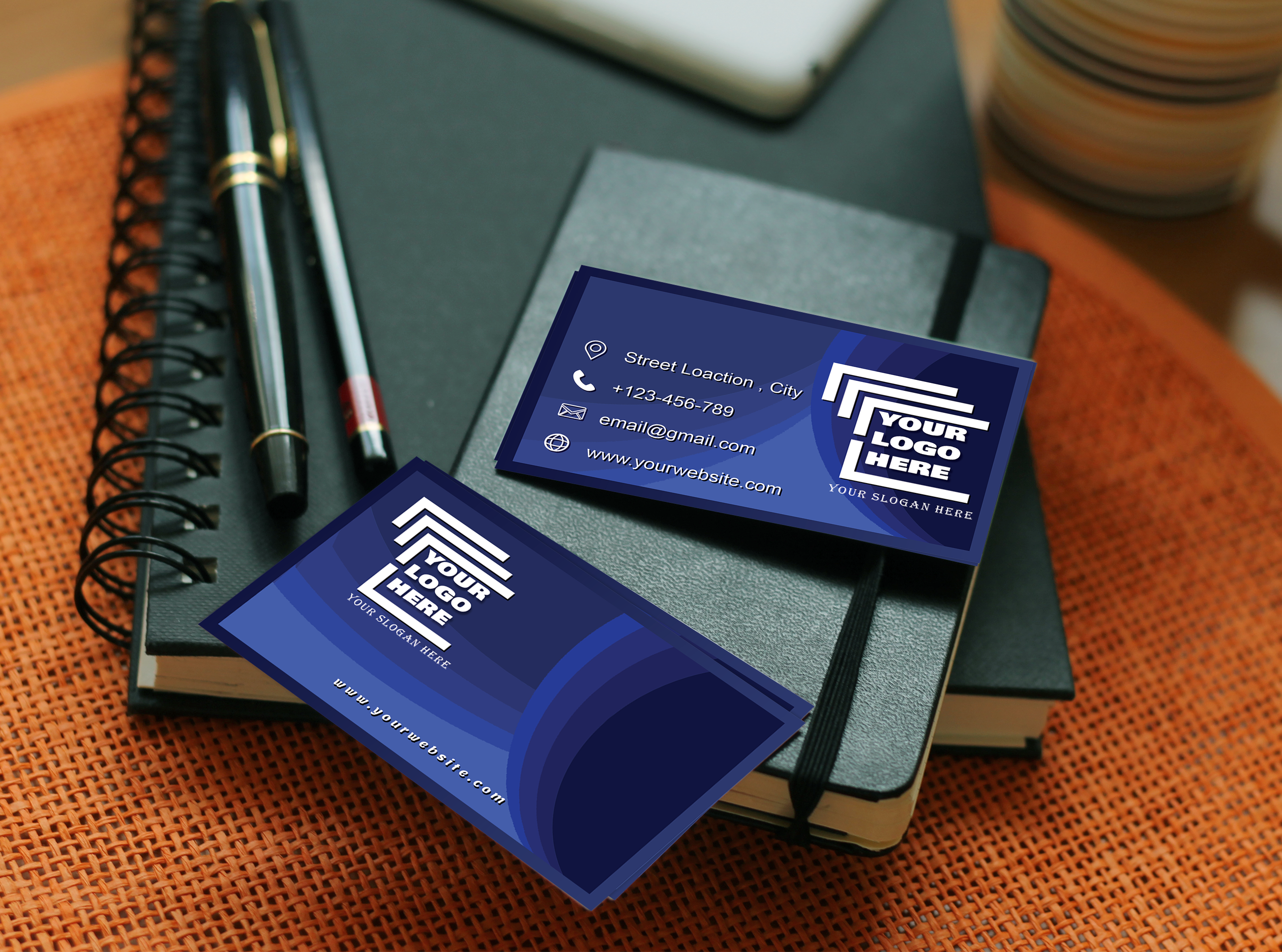 I will create you an attractive business card for your business