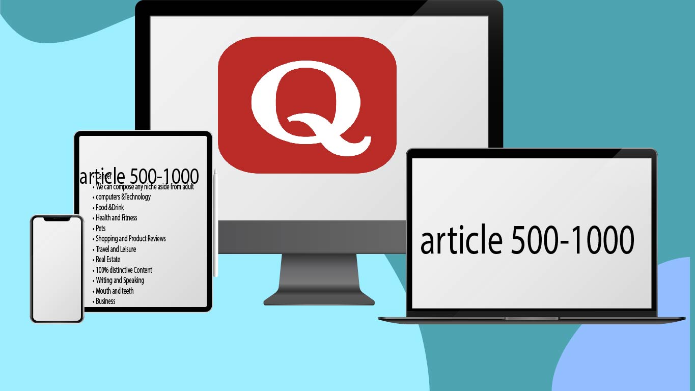 I Will provide 30 Quora question answer with backlinks for your website