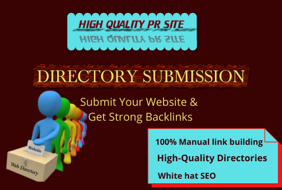 I will Do 100 Powerful and High Authority Directory Submission for Business Website