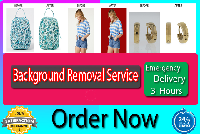 Photoshop Photo background removal or cut out