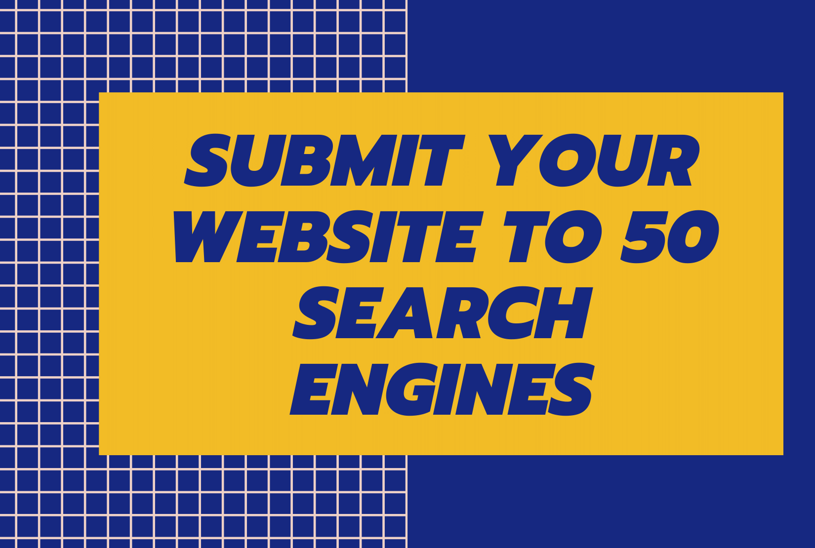 I will manually submit website URL to 50 Search Engines