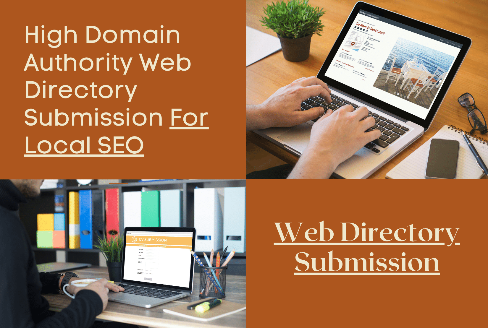 I will do high da web directory submissions