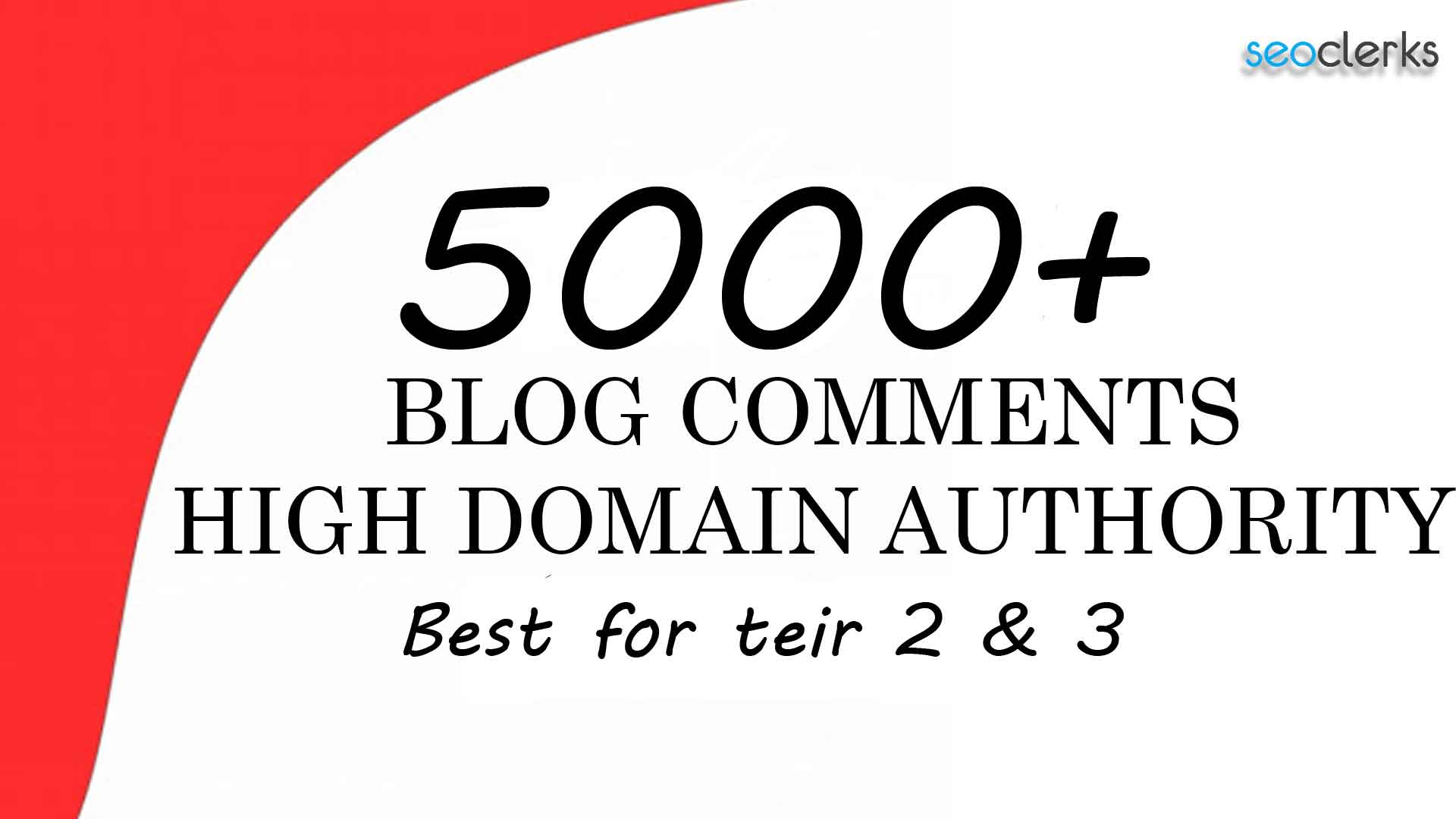 Get 5000 High Quality blog comments backlinks